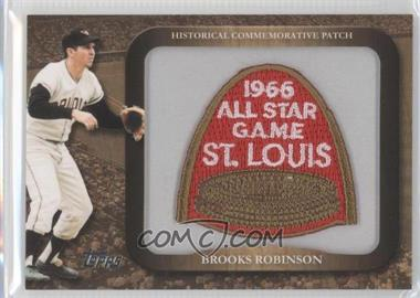 2009 Topps Legends of the Game Manufactured Commemorative Patch #LPR-75 - Brooks Robinson
