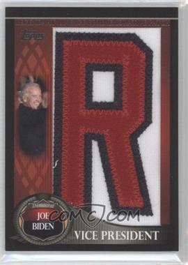 2009 Topps Legends of the Game Manufactured Letter Patch Series 1 #LGCP-JB - Joseph Bisenius /50