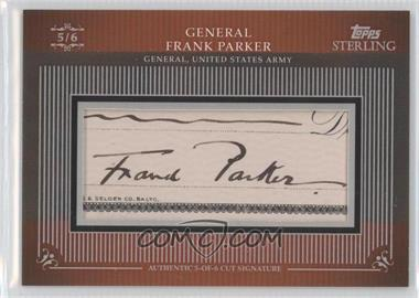 2009 Topps Sterling - Cut Signatures #MPS-176 - Frank Parker /6