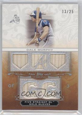 2009 Topps Sterling Career Chronicles Relics Five #5CCR-38 - Dale Murphy /25