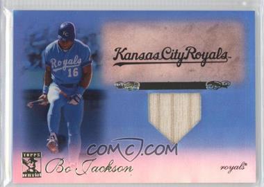 2009 Topps Tribute Relics Blue #23 - Bo Jackson /75