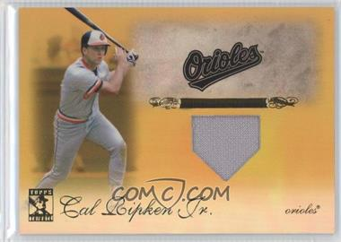 2009 Topps Tribute Relics Gold #9 - Cal Ripken Jr. /25