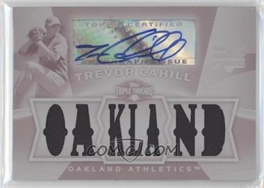 2009 Topps Triple Threads [???] #128 - Trevor Cahill /1