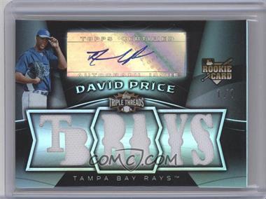 2009 Topps Triple Threads [???] #132 - David Price /1
