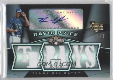 2009 Topps Triple Threads [???] #132 - David Price /1