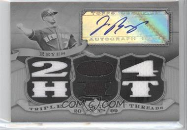 2009 Topps Triple Threads [???] #TTAR-8 - Jose Reyes /1