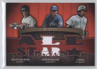 Grady Sizemore, Josh Hamilton, Ichiro Suzuki /36