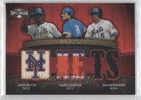 Jose Reyes, Gary Carter, David Wright /36