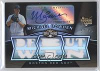 Michael Bowden /75