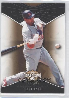 2009 Topps Triple Threads Sepia #5 - Albert Pujols /525