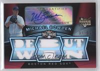 Michael Bowden /99