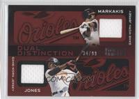 Nick Markakis, Adam Jones /99