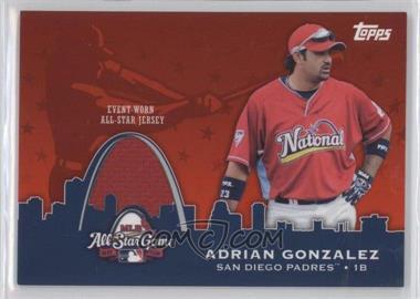 2009 Topps Updates & Highlights - All-Star Stitches #AST-13 - Adrian Gonzalez