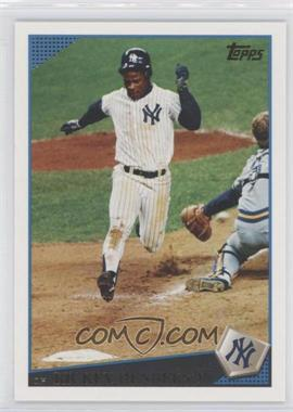 2009 Topps Updates & Highlights - [Base] #UH318.2 - Rickey Henderson