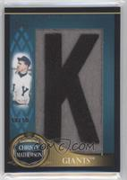 Christy Mathewson /50