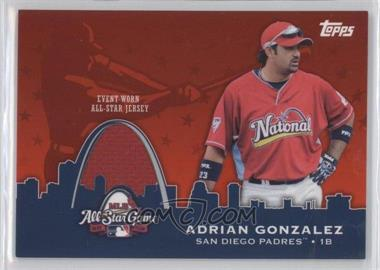 2009 Topps Updates & Highlights All-Star Stitches #AST-13 - Adrian Gonzalez