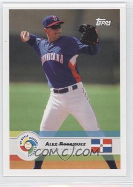 2009 Topps World Baseball Classic - [Base] #13 - Alex Rodriguez