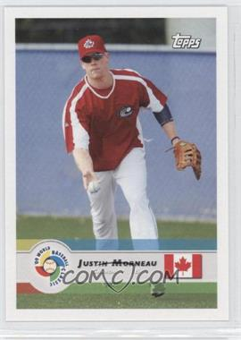 2009 Topps World Baseball Classic #17 - Justin Morneau