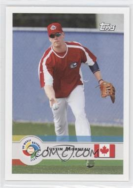 2009 Topps World Baseball Classic #17 - Justin Morneau
