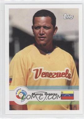 2009 Topps World Baseball Classic #35 - Miguel Cabrera