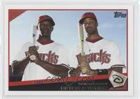 Justin Upton, Chris Young