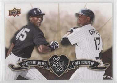 2009 Upper Deck - Ken Griffey Jr./Michael Jordan #KG-MJ - Michael Jordan, Ken Griffey Jr.
