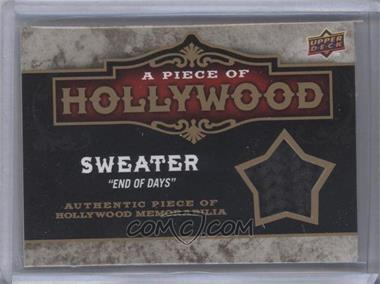 """2009 Upper Deck A Piece of History - A Piece of Hollywood #POH-AS - Sweater """"End Of Days"""" (Arnold Schwarzenegger)"""