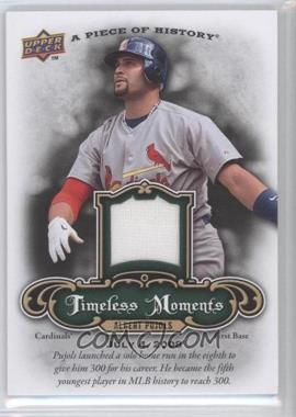 2009 Upper Deck A Piece of History - Timeless Moments - Jersey #TM-AP - Albert Pujols