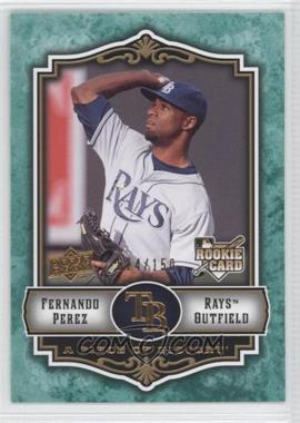 2009 Upper Deck A Piece of History Green #143 - Fernando Perez /150