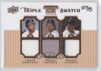 Frank Robinson, Manny Ramirez, Reggie Jackson /15