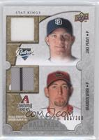 Jake Peavy, Brandon Webb /300
