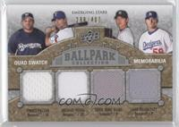Prince Fielder, Michael Young, Chad Billingsley /400