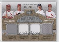 Albert Pujols, Khalil Greene, Ryan Ludwick, Chris Carpenter /400