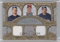 Ryan Braun, Ryan Ludwick, Prince Fielder, Chris Young, Carlos Lee /200