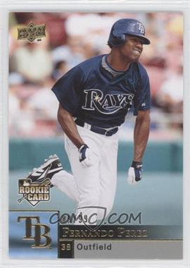 2009 Upper Deck Gold #429 - Fernando Perez /99