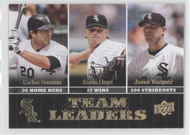 2009 Upper Deck Gold #435 - Carlos Quentin, Gavin Floyd, Javier Vazquez /99