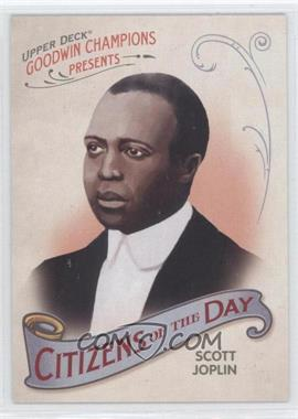 2009 Upper Deck Goodwin Champions Citizens of the Day #CD-9 - Scott Joplin