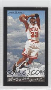 2009 Upper Deck Goodwin Champions Mini Black Border Gypsy Queen Back #114 - Michael Jordan