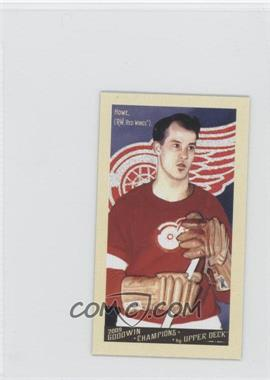2009 Upper Deck Goodwin Champions Mini #140 - Gomer Hodge