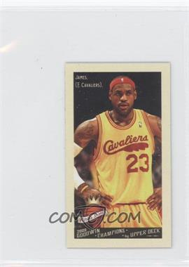 2009 Upper Deck Goodwin Champions Mini #73 - Lebron James