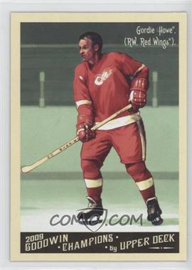 2009 Upper Deck Goodwin Champions Preview #GCP-5 - Gordie Howe