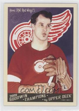 2009 Upper Deck Goodwin Champions #140 - Gomer Hodge