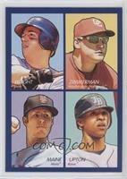 David Wright, Ryan Zimmerman, John Maine, B.J. Upton
