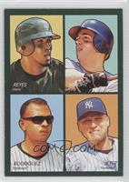 David Wright, Alex Rodriguez, Derek Jeter, Jose Reyes