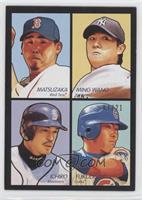 Kosuke Fukudome, Daisuke Matsuzaka, Chien-Ming Wang, Ichiro Suzuki /21