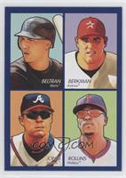 Carlos Beltran, Lance Berkman, Jimmy Rollins, Chipper Jones