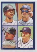 Alex Rodriguez, Ken Griffey Jr., Manny Ramirez, Jim Thome