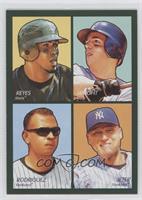 David Wright, Alex Rodriguez, Derek Jeter