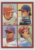 Shane Victorino, Cole Hamels, Ryan Howard, Mike Schmidt