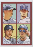 Scott Kazmir, James Shields, Evan Longoria, David Price